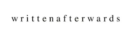 writtenafterwards