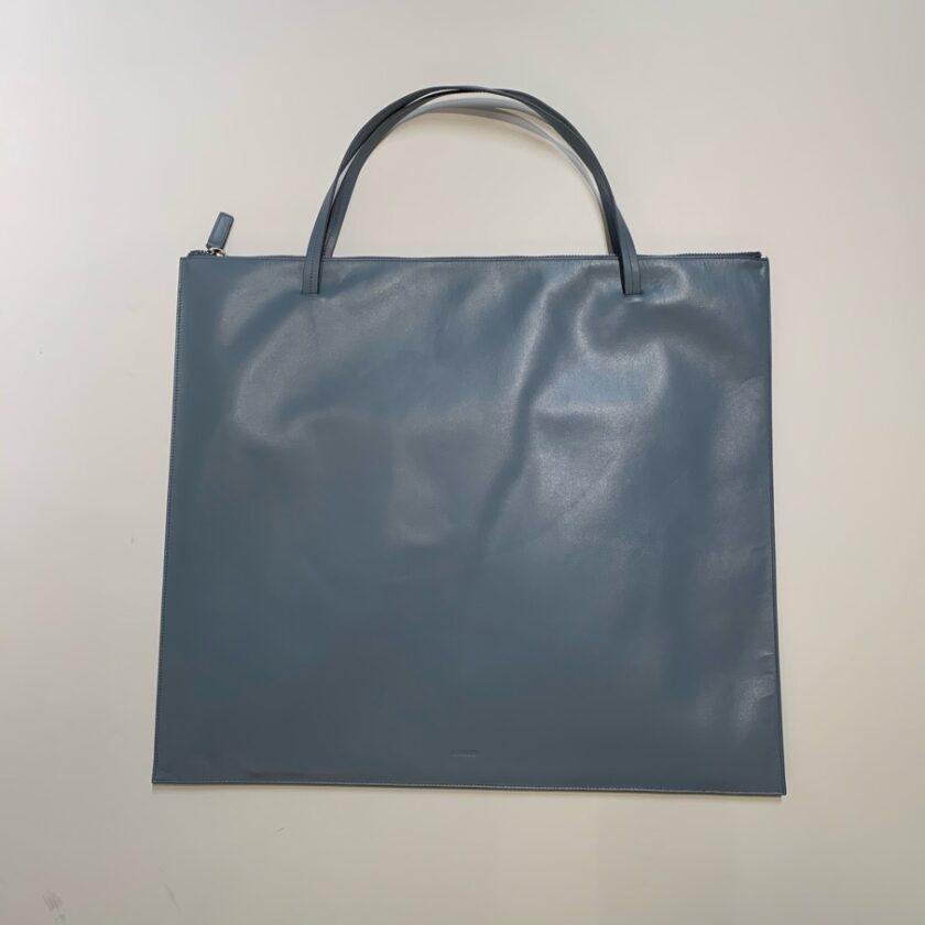 【JIL SANDER】ハンドバッグ ブルー