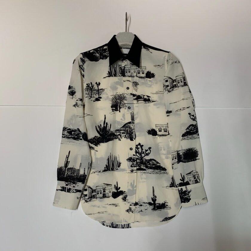 【JIL SANDER】*お問い合わせ商品 プリントシャツ