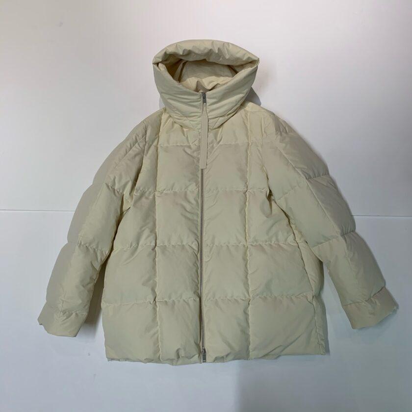 【JIL SANDER】*お問い合わせ商品 フーデッド パデッドコート ホワイト