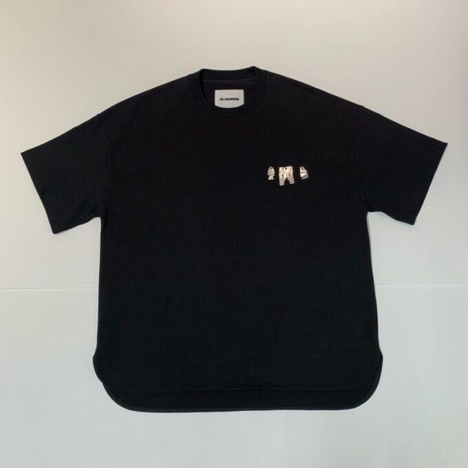 【JIL SANDER】*お問い合わせ商品 デコラティブ Tシャツ ブラック