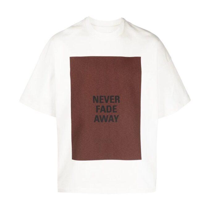 【JIL SANDER】*お問い合わせ商品 スローガン Tシャツ