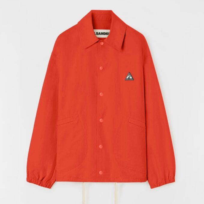 【JIL SANDER+】*お問い合わせ商品 コーチジャケット オレンジ