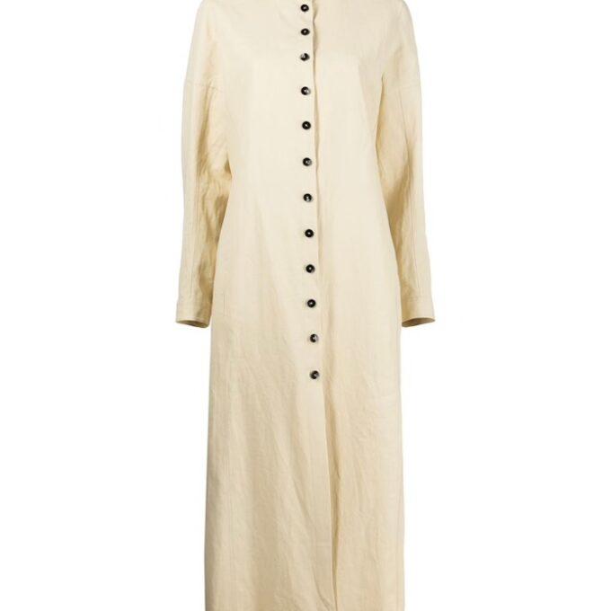 【JIL SANDER】*お問い合わせ商品 シャツドレス オフホワイト