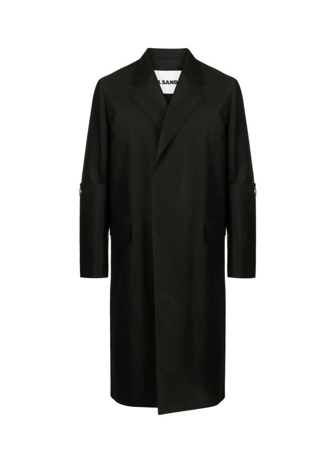【JIL SANDER】*お問い合わせ商品 テーラード コート ブラック