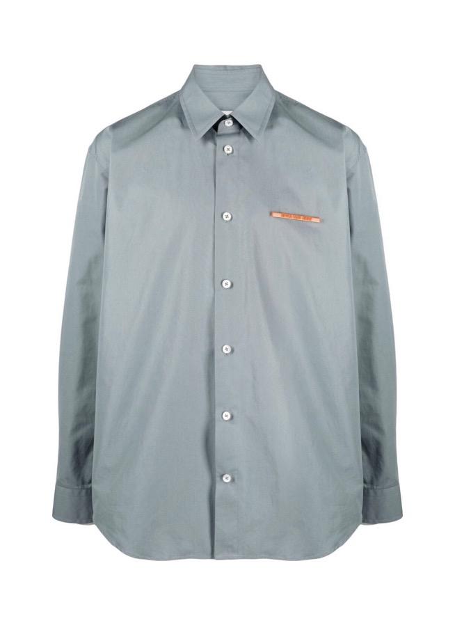 【JIL SANDER】*お問い合わせ商品 NEVER FADE AWAY プレート シャツ グレー