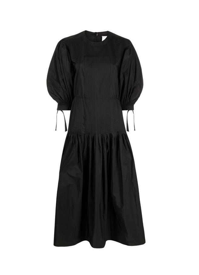 【JIL SANDER】*お問い合わせ商品 フレア ロングドレス ブラック