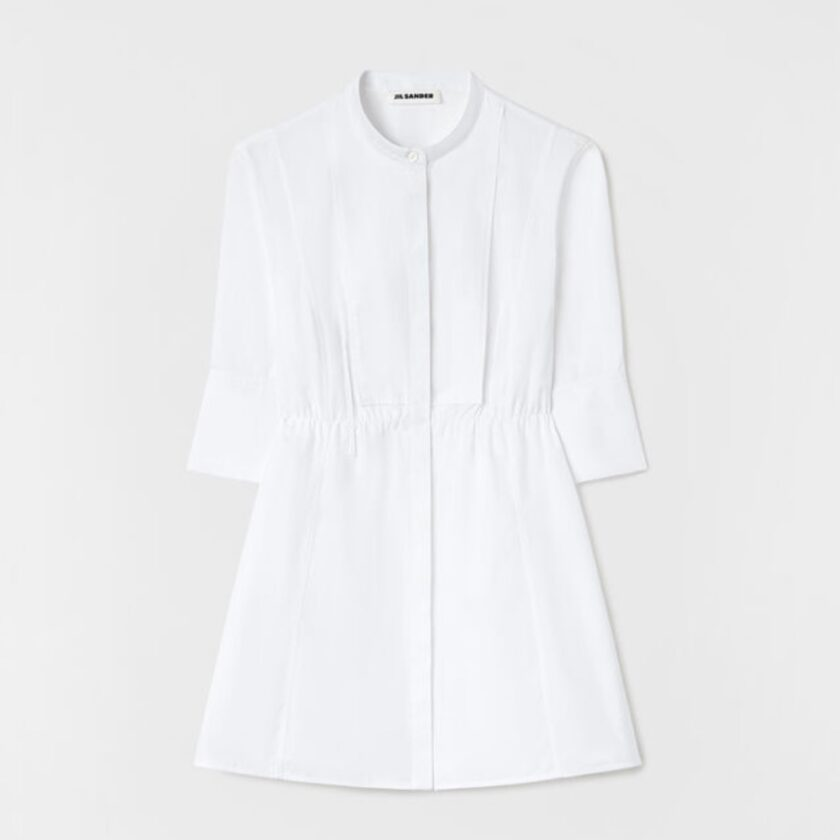 【JIL SANDER】*お問い合わせ商品 ショートスリーブ シャツ ホワイト