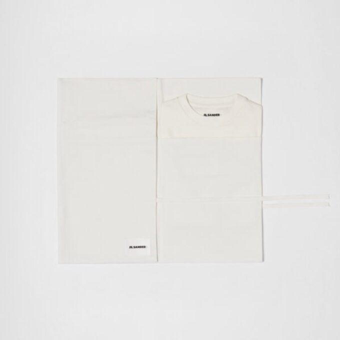【JIL SANDER】*お問い合わせ商品 3枚パック Tシャツ セット ホワイト
