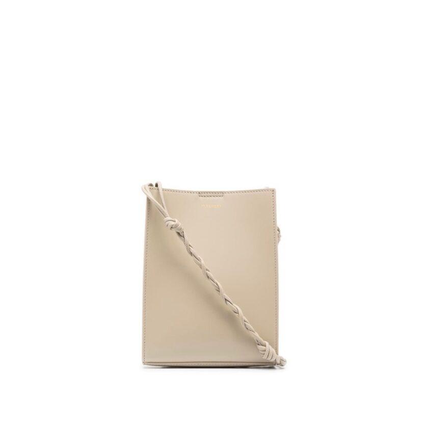 【JIL SANDER】*お問い合わせ商品 TANGLE ツイストストラップショルダーバッグ S  ベージュ
