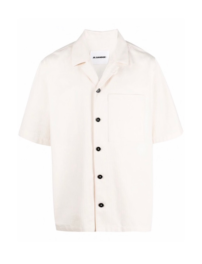 【JIL SANDER】*お問い合わせ商品 半袖ワークシャツ ホワイト