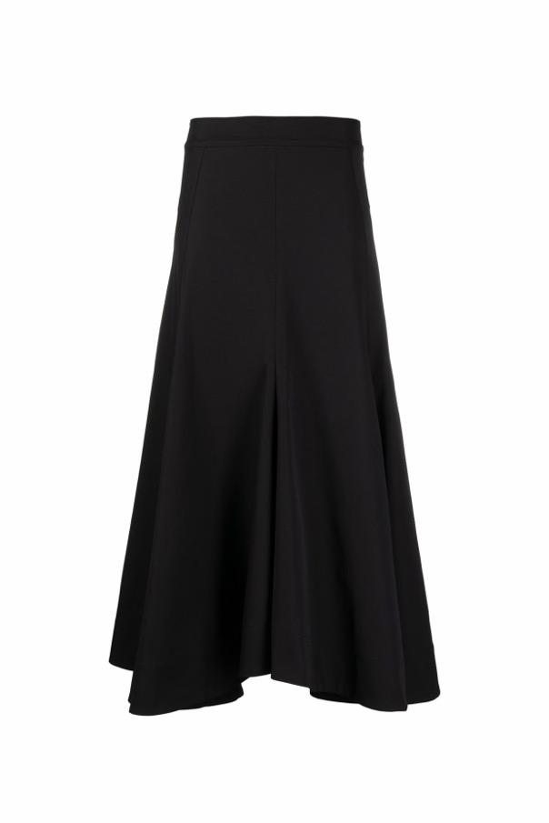 【JIL SANDER】*お問い合わせ商品 フレア ロングスカート ブラック
