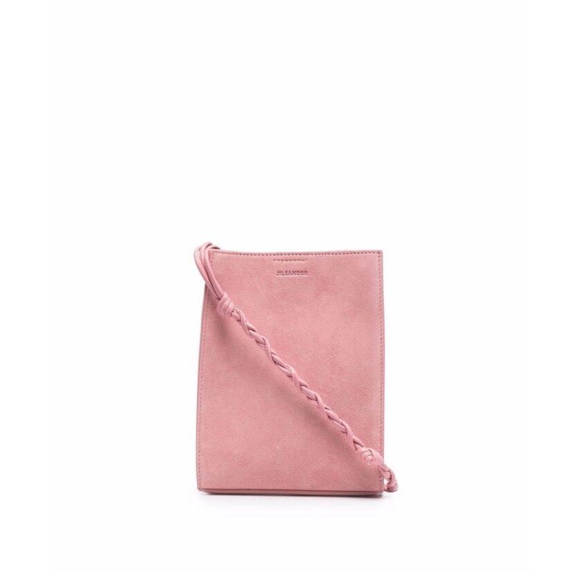 【JIL SANDER】*お問い合わせ商品 TANGLE ツイストストラップショルダーバッグ S  ピンク
