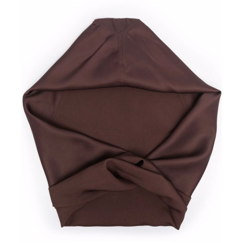 【JIL SANDER】*お問い合わせ商品 フーデッド スカーフ ブラウン