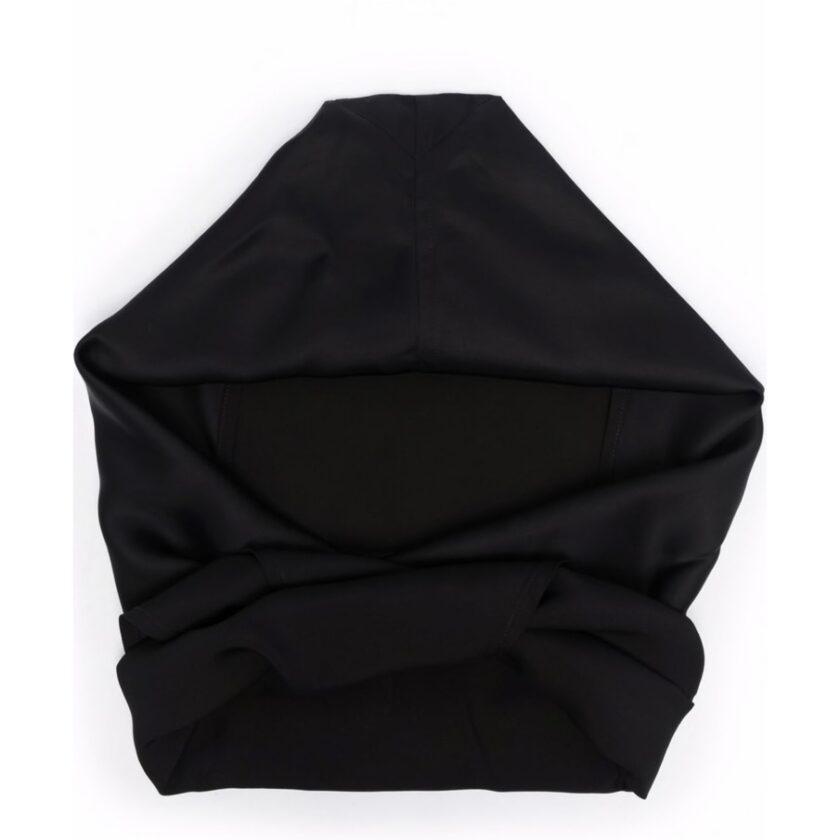 【JIL SANDER】*お問い合わせ商品 フーデッド スカーフ ブラック