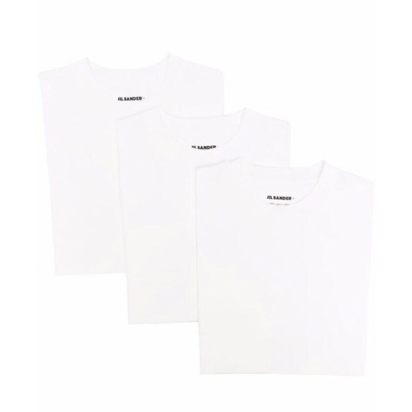 【JIL SANDER】*お問い合わせ商品 ロゴパッチ Tシャツ セット ホワイト