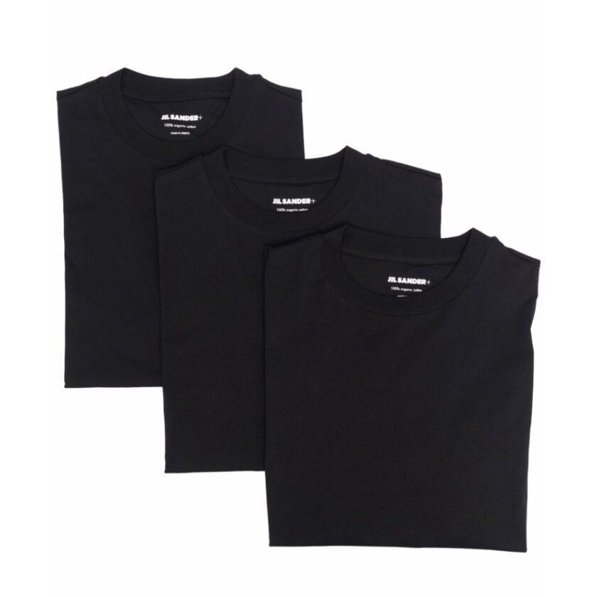 【JIL SANDER】*お問い合わせ商品 ロゴパッチ Tシャツ セット ブラック