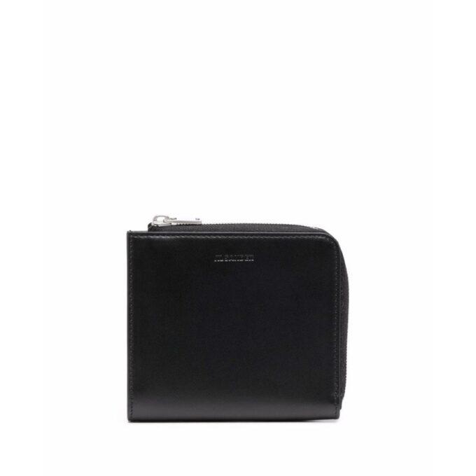 【JIL SANDER】*お問い合わせ商品 L字ジップ ミニ財布  ブラック
