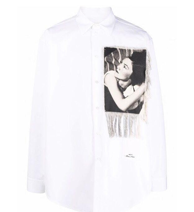 【JIL SANDER】*お問い合わせ商品 フォトプリント シャツ ホワイト