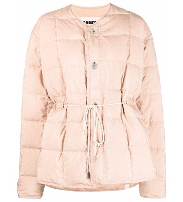 【JIL SANDER】*お問い合わせ商品 キルティングジャケット ピンク