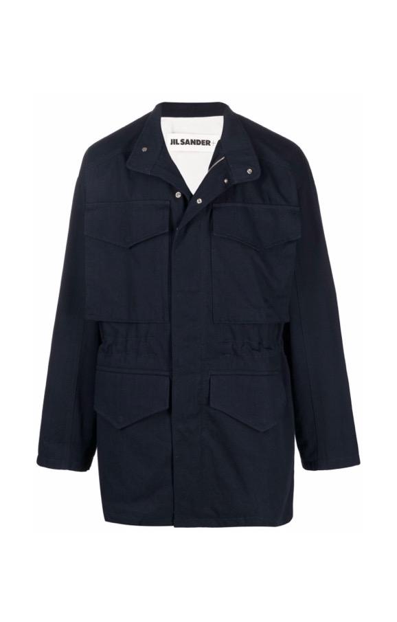 【JIL SANDER】*お問い合わせ商品 デニム フィールドジャケット ブルー