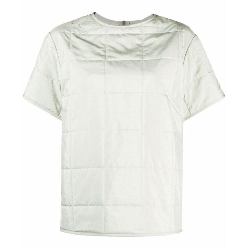 【JIL SANDER】*お問い合わせ商品 シルクブレンド Tシャツ グリーン