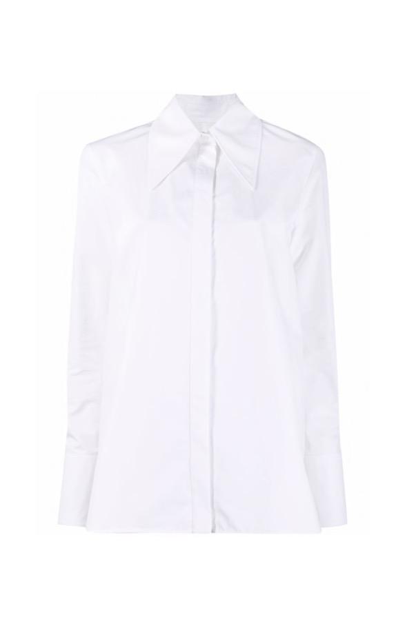 【JIL SANDER】*お問い合わせ商品 ポインテッドカラー シャツ ホワイト
