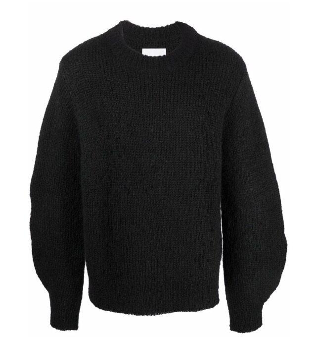 【JIL SANDER】*お問い合わせ商品 チャンキーニット セーター ブラック