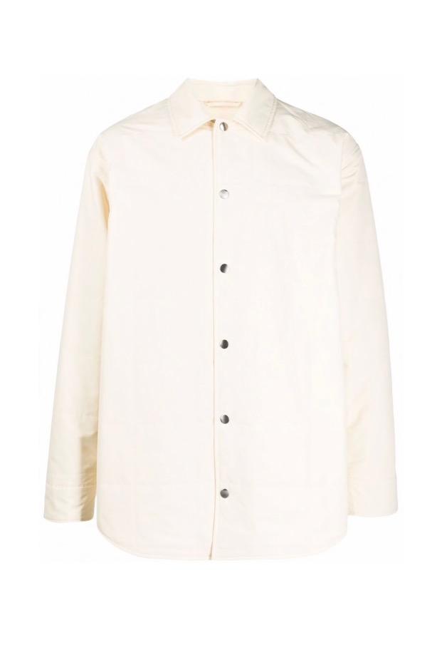 【JIL SANDER】*お問い合わせ商品 シャツジャケット ホワイト