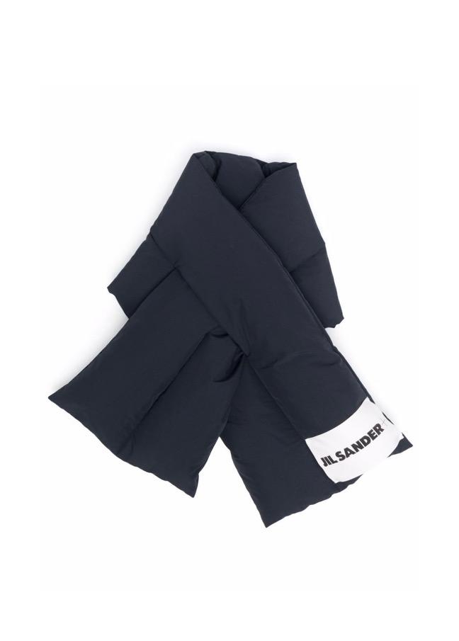 【JIL SANDER】*お問い合わせ商品 パデッド スカーフ ネイビー